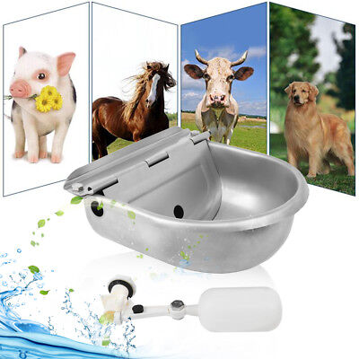 Automatic Farm Grade Stock Waterer Horse Goat Sheep Pig Dog Waterer Stainless