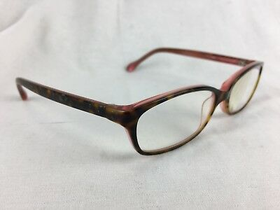 709af46a168d Womens Lilly Pulitzer JONAH Pink Tortoise Prescription Eyeglasses TO  149