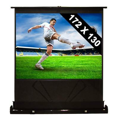 """86"""" Home Cinema System Canvas Hd Tv Projector Screen *free P&p Special Offer"""