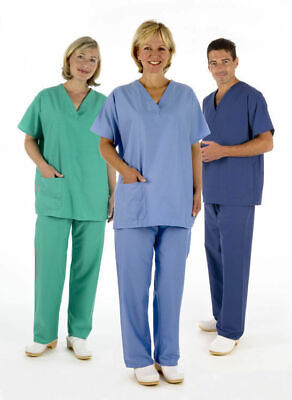 NHS Medical Compliant Scrub Suit Tunic (TOP ONLY)  Healthcare Uniform Work Nurse