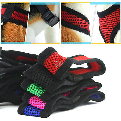 Pet Control Harness Soft Mesh Dog Puppy Cat Walk Collar Safety Strap Vest