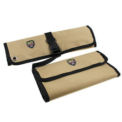 NEW Chef Knife Bag Roll Bag Carry Case Bag Kitchen Portable Storage 12 Packets