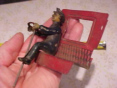 Vintage Old German Germany Limousine Driver Part for Tin Windup Wind Up Toy Car