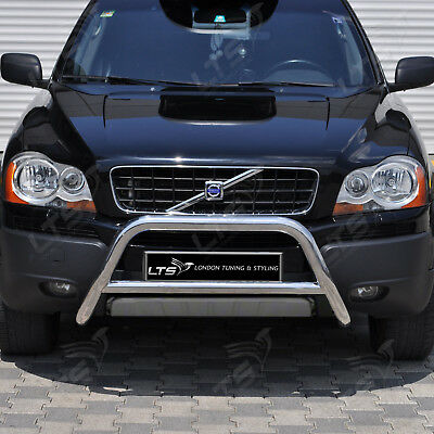 Volvo Xc90 Chrome Nudge A-Bar, Stainless Steel Bull Bar 2004-2014 Models W K