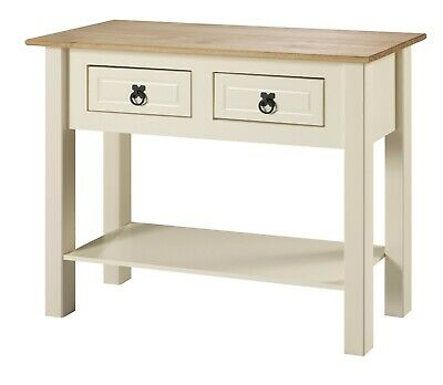 Corona Cream 2 Drawer Console Table Painted by Mercers Furniture®