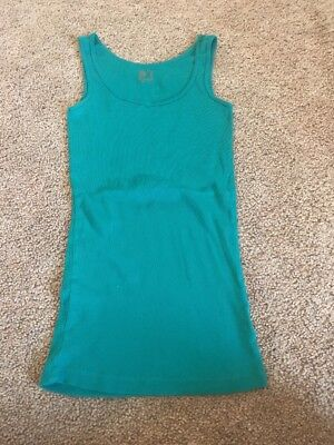 27f114a9984b6b JCP JCPENNEY S GREEN Tank Top Size Women s Small -  5.60