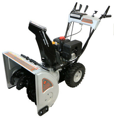 """24 """" Dual Stage Snow Blower, Heated Handles - Dirty Hand Tools"""