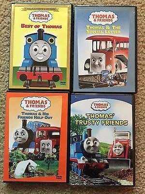Thomas And Friends 4 Dvd Lot Best Of Thomas, Trusty Friends, Help Out