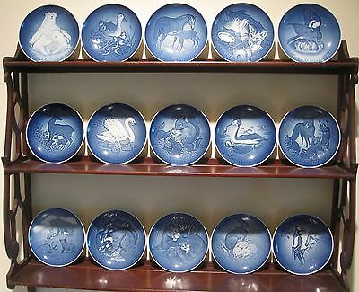 A Lot of 15, Bing & Grondahl Mothers Day Plates - 1970 - 1983, 1985
