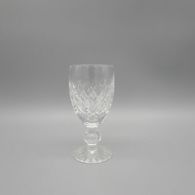 SET OF FOUR - Waterford Crystal BOYNE Sherry Wine Glasses