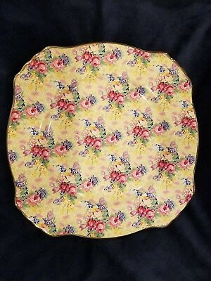 Royal Winton Grimwades Welbeck Square Dinner Plate Set of 2