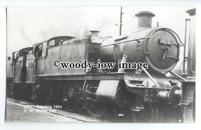 ry1356 - B.R.Locomotive Engine No.6121 at Reading in 1954.- postcard