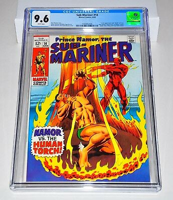 Sub-Mariner 14 CGC 9.6 White Pages