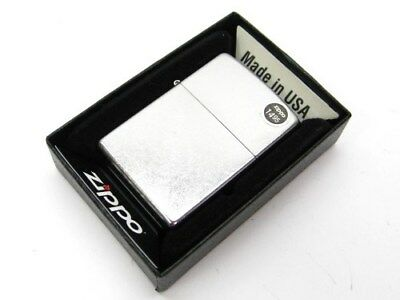 ZIPPO Full Size STREET CHROME Classic Windproof Lighter Model 207 New!