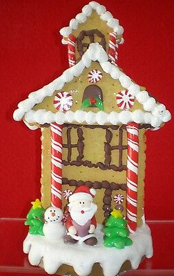 Christmas Holiday Stocking Holder Hanger Gingerbread House Hook