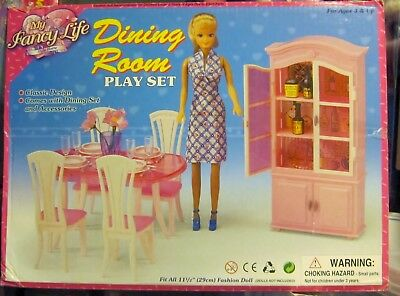 *NEW* Gloria Barbie Doll House Dining Room Play Set (24011)