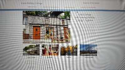Holiday Cottage Ingleton Yorkshire Dales nr Lake District sleeps 2 £32+ dog