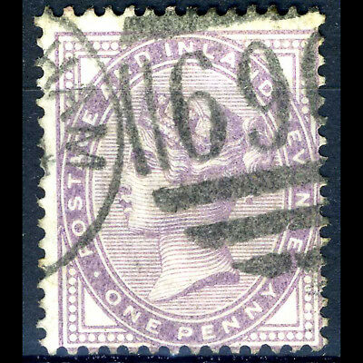 GREAT BRITAIN 1881 1d Lilac. 14 Dots. SG 170. Good Used. (AB341)