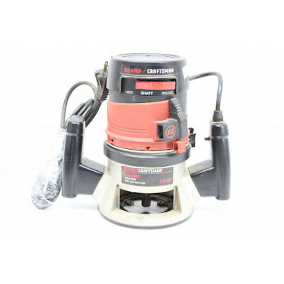 Sears Craftsman 315174710 Double Insulated 1.5HP Router