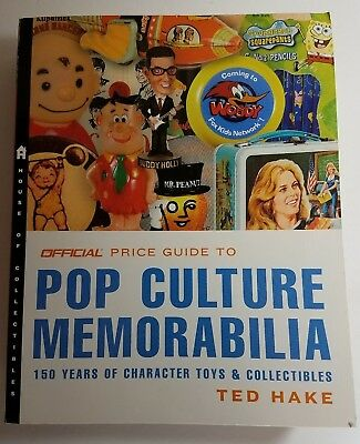 Pop Culture Memorabilia 150 Years of Character Toys & Collectibles by Ted Hake