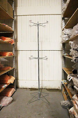 Spinner Rack 2 Tier with Price Tag Holders and Sign Holder