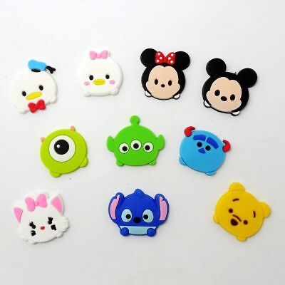 10 Mickey Mouse Minnie & Friends kids jibbitz crocs shoe charms cake toppers