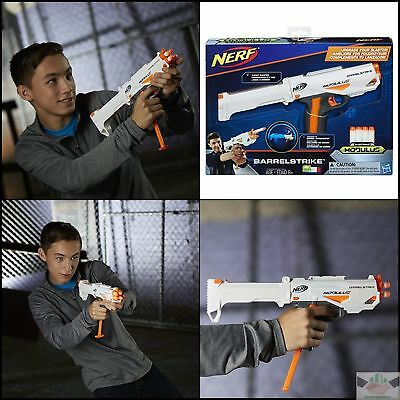 Nerf N-Strike BarrelStrike Load Zombie Blaster Gun Kid Toy Rapid Fire Foam Dart