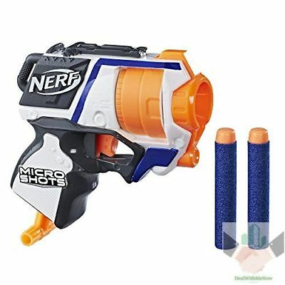 Nerf N Strike MicroShots Zombie Blaster Gun Kid Toy Rapid Fire Foam Dart Elite