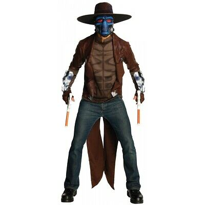 Cad Bane Costume Adult Star Wars Halloween Fancy Dress