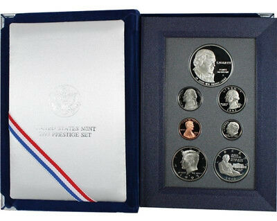 1993 US Bill of Rights Prestige Proof Coin Set - GEM FDC Coins + Silver Dollar