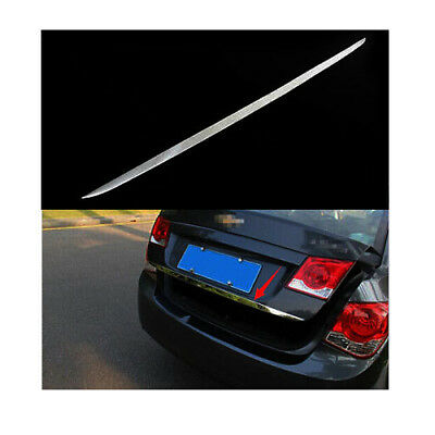 Molding Car Rear Tail Gate Trim Strip Stainless For Chevrolet Cruze Sedan 09-14