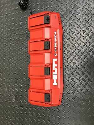 Hilti 4 Pc Battery Charger Station C 4/36-MC4