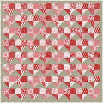 LOVE Quilt Kit - Moda Fabric by Sweetwater + Quilt Pattern