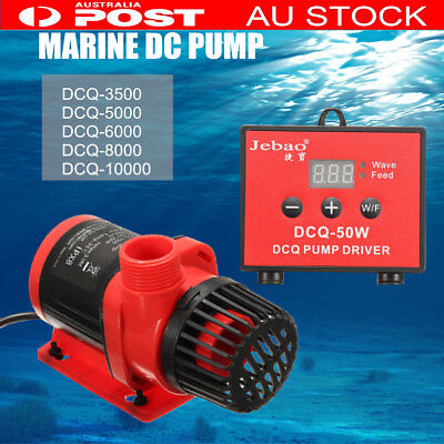 Jebao/Jecod DCQ DC Aquarium Tank Pump Submersible Pond For Fish Care +Controller