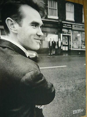 Morrissey - Magazine Cutting (Full Page Photo) (Ref T13)