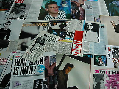 Morrissey/the Smiths - Magazine Cuttings (Ref Xd8)