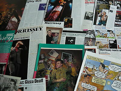 Morrissey - Magazine Cuttings Collection (Ref Aa1)
