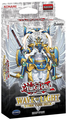 3x Yugioh Wave of Light English Structure Deck (41 Cards) (SET OF 3)