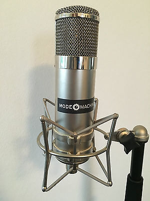 MODE MACHINES VTM-1 Vintage Tube Microphone Röhrenmikrofon 7025/12AX7 Tube VOVOX