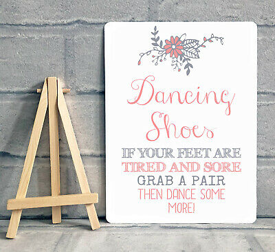9ba4835e6 A5 Dancing Shoes Wedding Flip Flop Basket Metal Sign Decoration - PINK