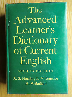 ★ The Advanced Learner's Dictionary of Current English ★ Second Edition ★