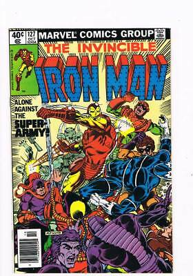 Iron Man # 127  Alone Against the Super-Army !  grade 9.0 scarce book !