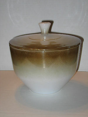 Federal Glass Iridescent Covered Oven Proof Bowl 1.5 Quart