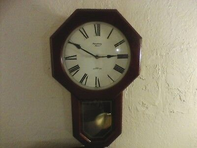 Classic Manor Quartz Westminster Chime Pendulum Wall Clock