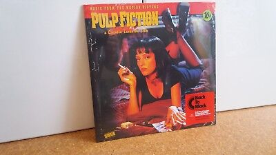 "Pulp Fiction OST Soundtrack Vinyl LP ""Back To Black Edition"" *new* +MP3"