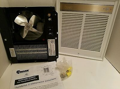 QMARK CWH-1208DS 208V Commercial Fan Forced Wall Heater 2000/1000 WATT