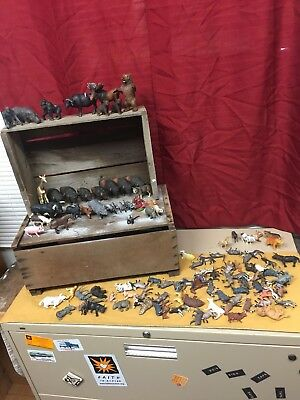 Mixed Lot of Schleich Toy Wild Animal figures and others