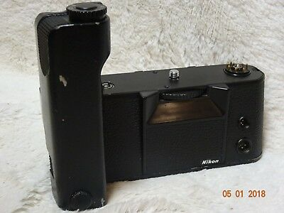 NIKON MD-4 MOTOR DRIVE good  CONDITION FOR NIKON F3 EXCELLENT md4 see pictures