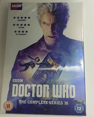 Doctor Who The Complete Series 10 DVD Brand New & Sealed Region 2 new/sealed