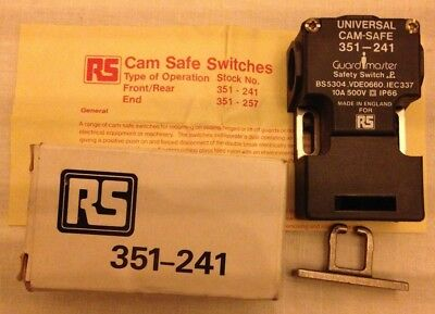 Guardmaster RS Universal Cam-safe Safety Guard Switch 351-241 Front Operation